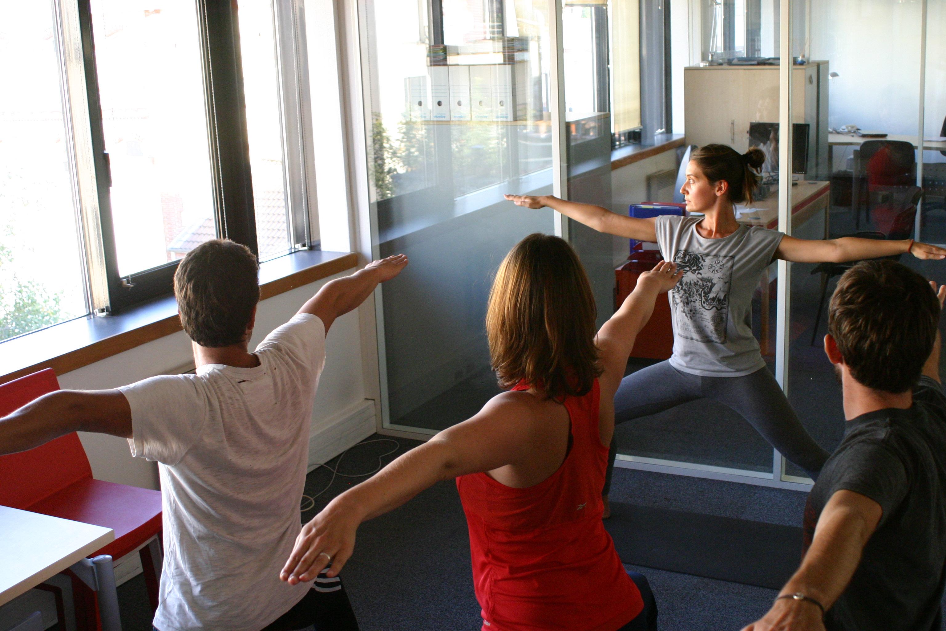 Santé au travail avec Elodie Yoga à Paris et Boulogne Billancourt